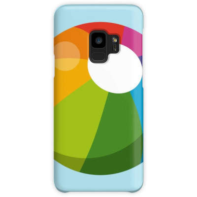 Multicolor Beach Ball Case