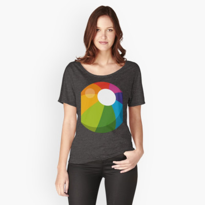 Multicolor Beach Ball T-Shirt