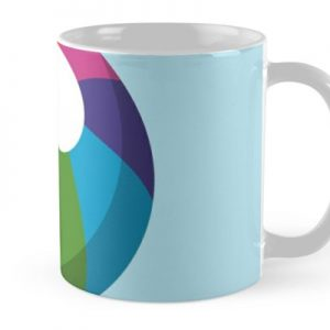 Multicolor Beach Ball Mug
