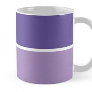 Violet Horizontal Stripes
