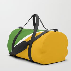 Colorful Diagonal Stripes Duffle Bag
