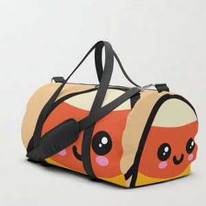 Creepy Egg Candy Corn Duffle Bag