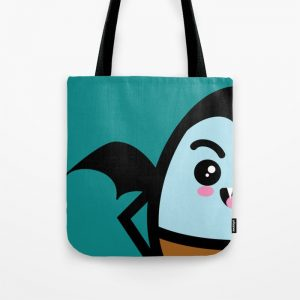 Creepy Egg Dracula Tote Bag