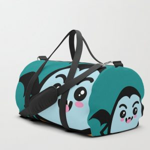 Creepy Egg Dracula Duffle Bag