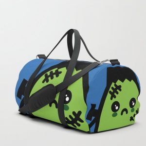 Creepy Egg Frankenstein Duffle Bag