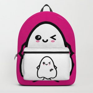 Creepy Egg Ghost Backpack