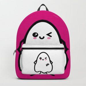 Creepy Egg Ghost Backpack