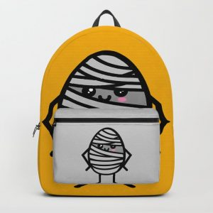 Creepy Egg Mummy Backpack