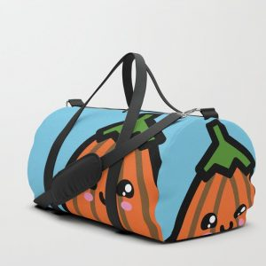 Creepy Egg Pumpkin Duffle Bag