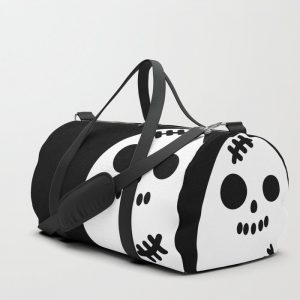 Creepy Egg Skull Duffle Bag