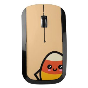 Creepy Egg Candy Corn Wireless Mouse