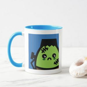 Creepy Egg Frankenstein | Add your name Mug
