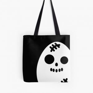 Creepy Egg Skull Tote Bag