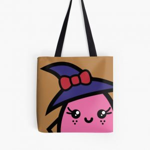 Creepy Egg Witch Tote Bag