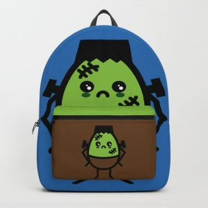 Creepy Egg Frankenstein Backpack