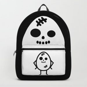 Creepy Egg Skull Backpack