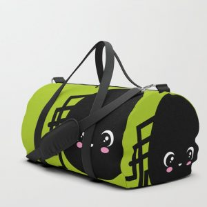 Creepy Egg Spider Duffle Bag