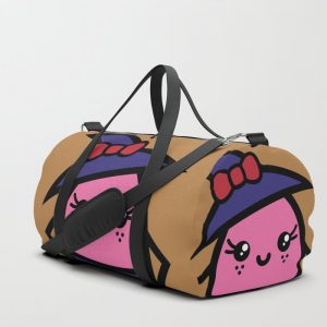 Creepy Egg Witch Duffle Bag