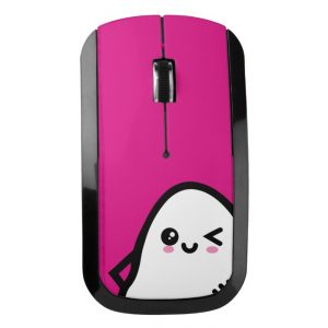 Creepy Egg Ghost Wireless Mouse