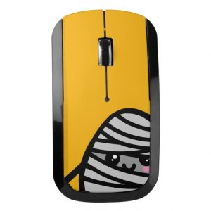 Creepy Egg Mummy Wireless Mouse