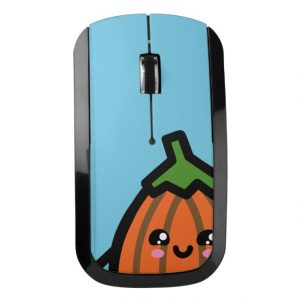 Creepy Egg Pumpkin Wireless Mouse