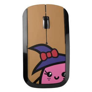 Creepy Egg Witch Wireless Mouse