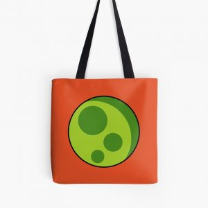 Run Astro Run – Green Moon Tote Bag