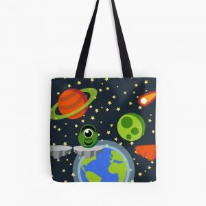 Run Astro Run Tote Bag