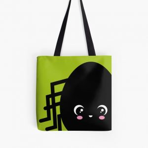 Creepy Egg Spider Tote Bag