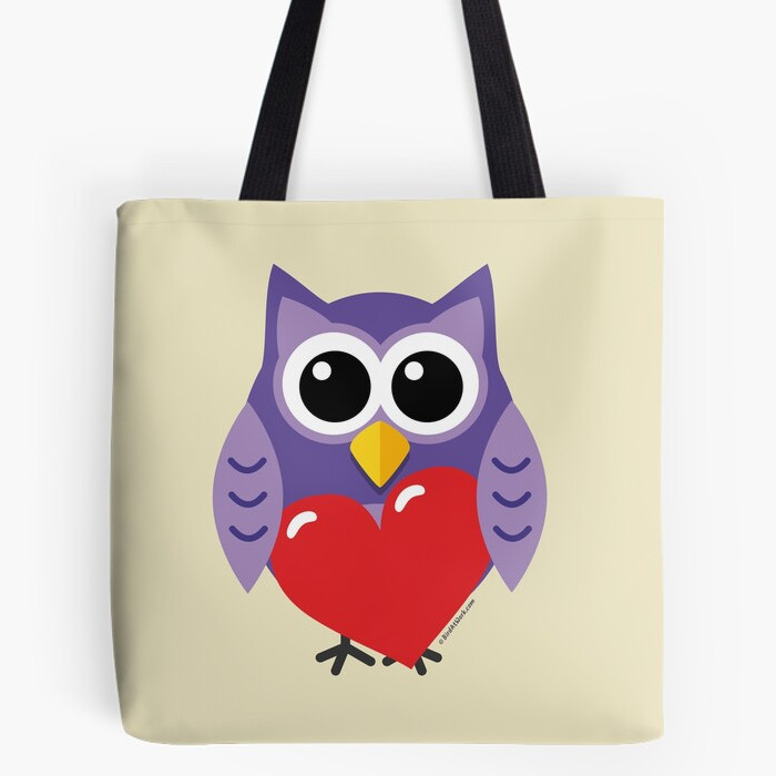 Redbubble - Tote Bag - An Owly Love